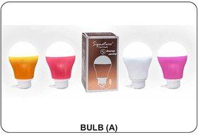 Signature USB 5 Watt LED Bulb A For Emergency Light - Assorted Colors