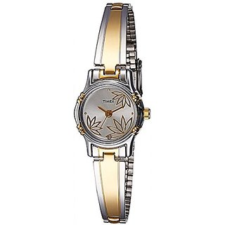 Timex Classics Analog Silver Dial Womens Watch - TW000B815