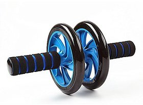 Strauss Double Wheel Ab Exerciser (With Knee Pad)