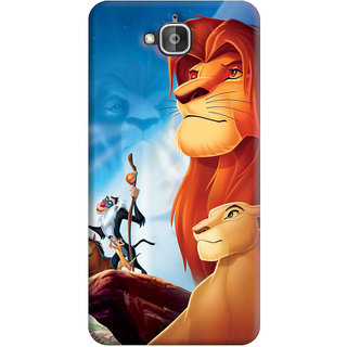 FurnishFantasy Back Cover for Huawei Honor Holly 2 Plus - Design ID - 0044