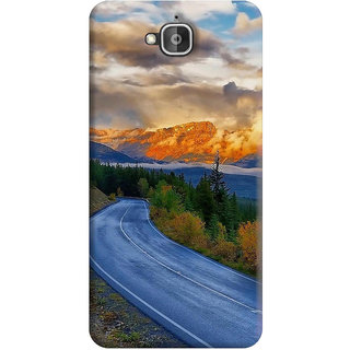 FurnishFantasy Back Cover for Huawei Honor Holly 2 Plus - Design ID - 0702