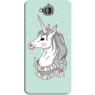 FurnishFantasy Back Cover for Huawei Honor Holly 2 Plus - Design ID - 1182