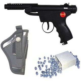 DYNAMIC MART Bond Series 2 Air Gun 100 Bullets With Cover (Pack of 1)  (Black)