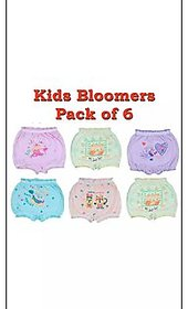 Kid's Bloomer Soft Cotton Pack of-6