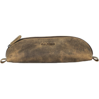 Calfnero Genuine Leather Pen Case