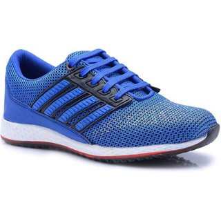 Aadi Men's Blue Mesh Training Sport Shoes