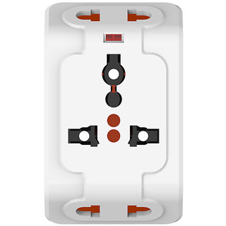 Spice 3-pin Universal Travel Adaptor (with Surge Protector)