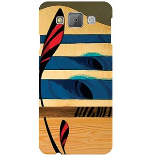 Printland Back Cover For Samsung Galaxy E5