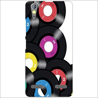 Printland Back Cover For Lenovo A6000 Plus