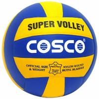 COSCO SUPER VOLLEY BALL (SIZE-4)- Assorted