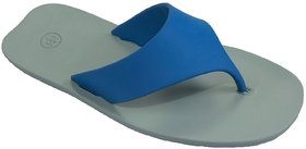 WCFC Men's Blue  Grey Smart Casual Flip Flops