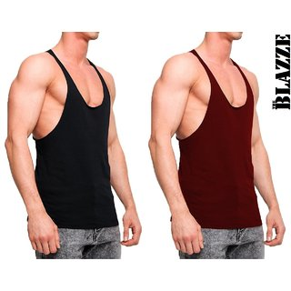 The Blazze Gym Tank Stringer For Men Pack Of Two