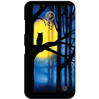 Printland Back Cover For Nokia Lumia 630
