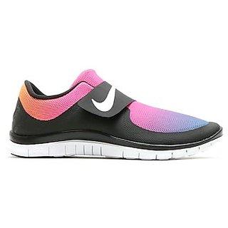 0575c42427e9 Nike Free Socfly SDGradient3.0 Mens Running Shoes Black White- ...724766-005