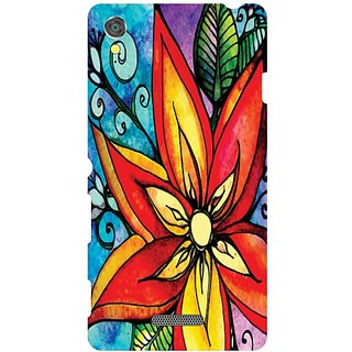 Printland Back Cover For Sony Xperia T3 D5102
