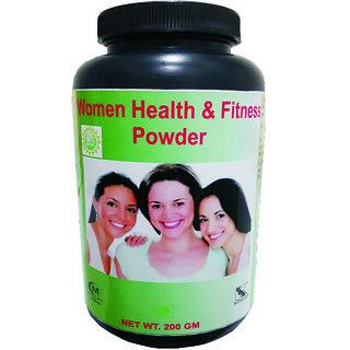 Hawaiian Herbal women health and fitness powder 200 Grams(Buy 1 Women health and fitness powder  Get 1 Same Drops Free)