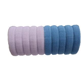 PARAM Hair Rubber Bands Light Colour (10 pcs)