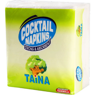 Taina Cocktail Napkin 27 x 30 Pack of 6