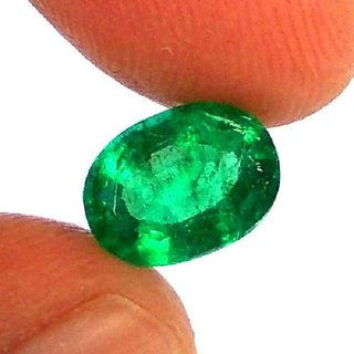 10.50 Ratti Natural Emerald Lab Certified Stone Jaipur Gemstone