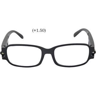 b2a17289b78 Buy fashion eyewear Led Reading Glasses 150 reading spectacles Frame glasses  spectacle readymade galss opticals cr lens Online   ₹1100 from ShopClues
