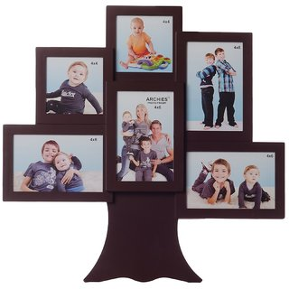 Buy Family Tree Collage Photo Frame For 6 Photos Online Get 39 Off