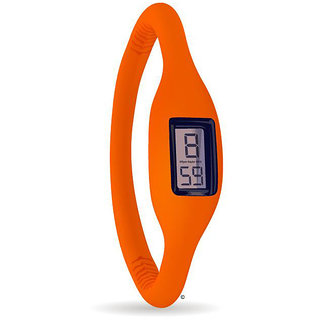 Trendy Sports Type Silicon Watches For Both Men And Women(Unisex) Orange Color