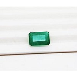 11.75 Ratti Natural Emerald Lab Certified Stone Jaipur Gemstone