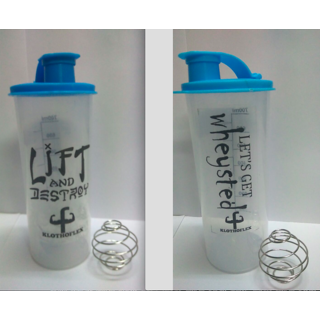 Combo of 2 Gym Shaker with Spring Ball from Klothoflex