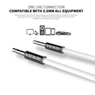 Vidvie AL1105 Aux Cable (Black)