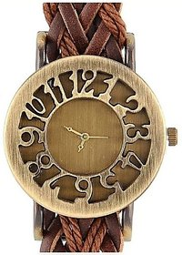 FAST SELLING  FANCY LARGE KNITTED BELT FAST SELLING Analog Watch - For Women, Girls