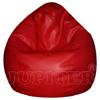 ZOLO XL - BEAN BAGS - SUPERIOR QUALITY (RED) COVER ONLY