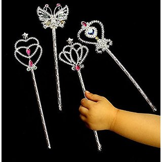 Dazzling Toys Metallic Star Wands - Pack of 12 (D145)
