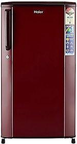 Unboxed Haier 170 L 3 Star Direct-Cool Single Door Refrigerator (HRD-1703SR-R/HRD-1703SR-E, Burgundy Red)