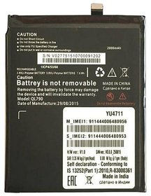 Systene High Capacity Original backup BIS Approved Battery For Micromax Yunique 4711