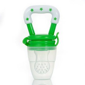 #Silicone Baby Food/ Fruit Feeder/ Baby Teether/ Baby Soother (Green)