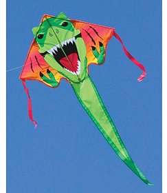 "Large Easy Flyer Kite - T-Rex Dinosaur (46"" X 90&q"