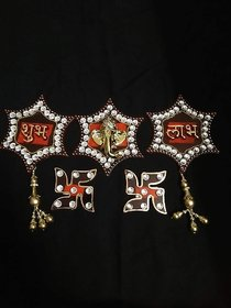 Labh Subh Wall hanging