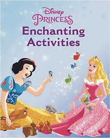 Disney Princess Enchanting Activities book