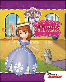 Disney Junior Sofia the First Princess Activities book