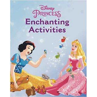 Disney Princess Enchanting Activities book