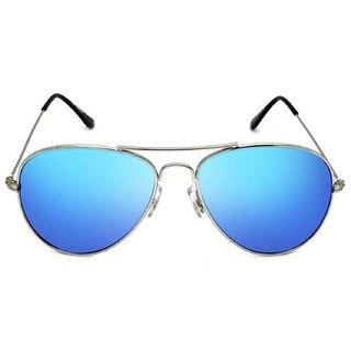 Meia Blue Mirrored Aviator Sunglasses Impavtrniklbluemrcy