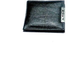 D.1 Unique Men's Black Wallet, Size- 11/9 cm