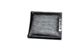 D.1 Unique Men's Brown Wallet, Size- 11/9 cm