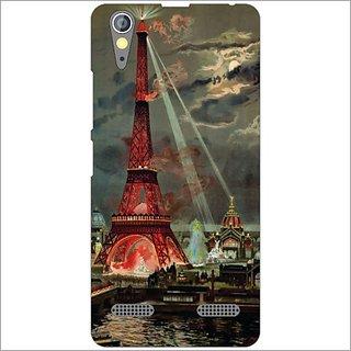 Printland Back Cover For Lenovo A6000 Plus