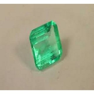 7.50 Ratti Colombian Emerald Unheated Stone Jaipur Gemstone