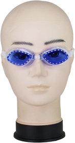 Neska Moda Unisex Antifog And UV Protected Blue Swimming Kit Swim37