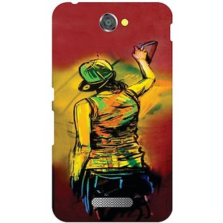Printland Back Cover For Sony Xperia E4
