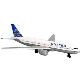 Daron United Airlines 777 airplane toy plane RT6266