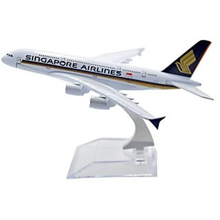 Tang-Dynasty CraftGully 1:400 16cm A380 Singapore Airlines Metal Airplane Model Plane Toy Plane Model