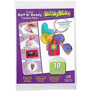 Shrinky Dinks Frosted Ruff n Ready 10 Sheet Creative Pack
